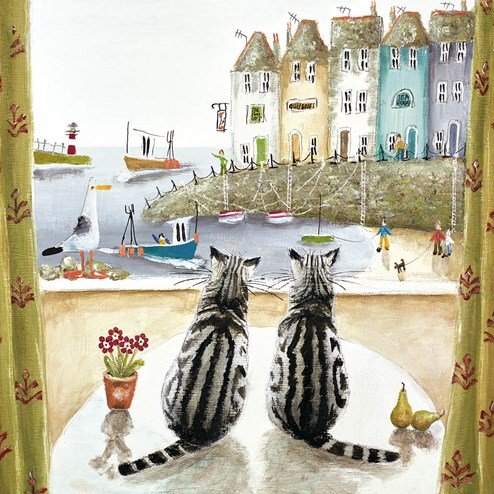 Two of a Kind by Rebecca Lardner - Limited Edition on Canvas